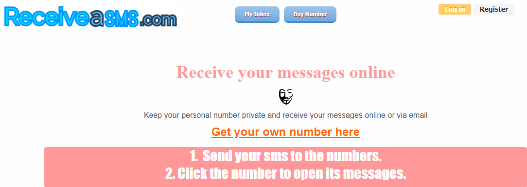 Receive-A-SMS