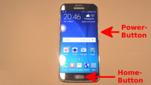 How to Capture or Screenshot of Samsung Galaxy S6 S6 Edge