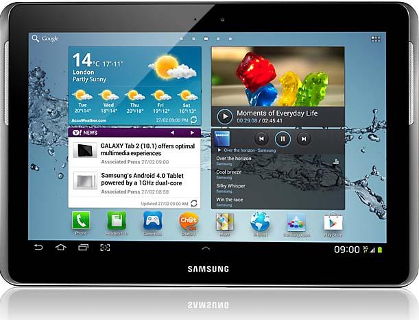 How to Take Screenshot on Samsung Galaxy Tab 2