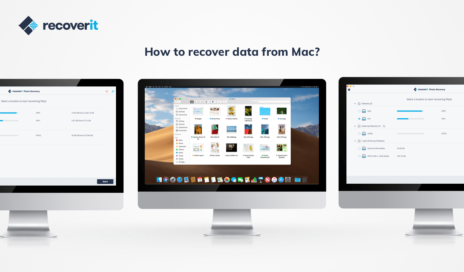 Review Recoverit - Software For Restore lost data on Mac