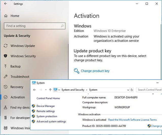 Activation of Windows 10 Using KMS Pico