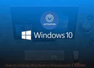 Best Tricks To Activate Windows 10 Permanently Offline 2019