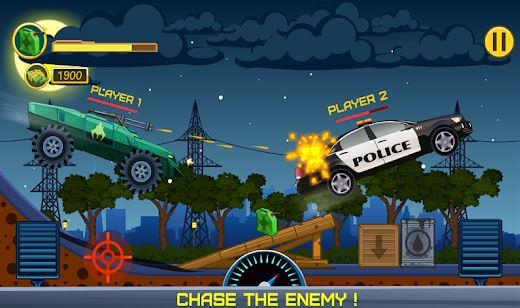 Two Players Game - Crazy Racing