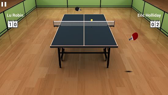 Virtual Table Tennis
