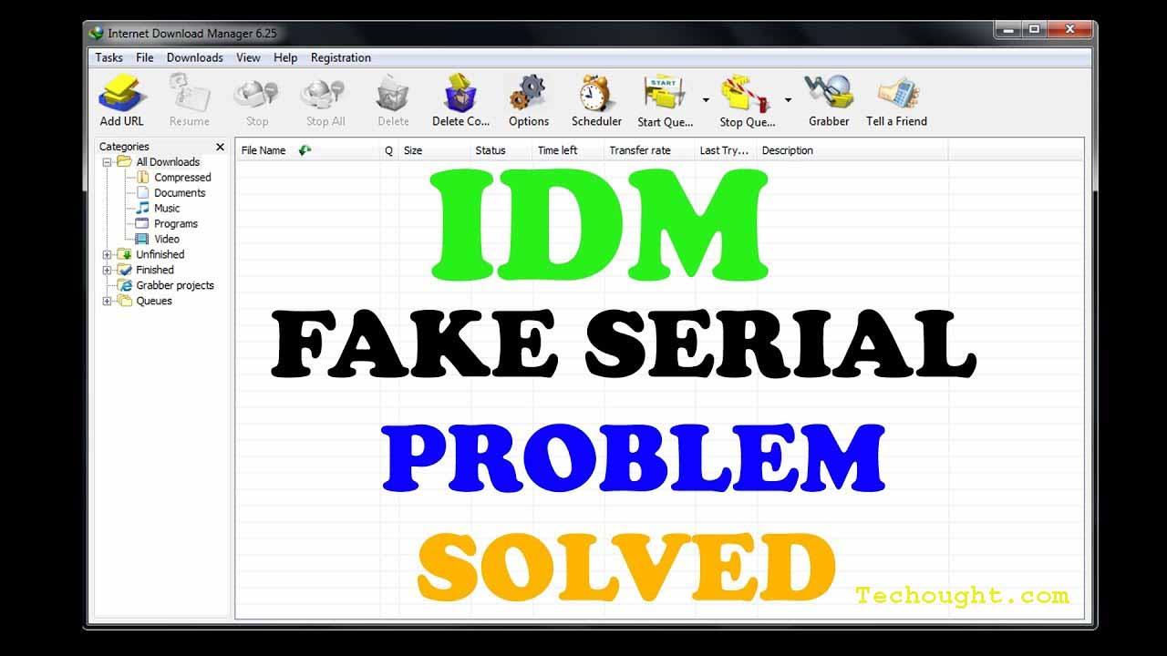 Best Tricks To Fix IDM Fake Serial Number Error