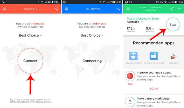 Best Essay Ways to Download Touch VPN APK
