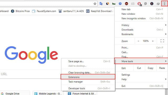 How to open a blocked site on Google Chrome