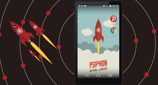 How to open a blocked site with Psiphon