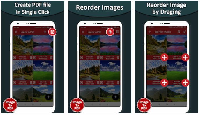 Image to PDF - Social Tools App