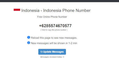 www.receivesms.co/indonesia-phone-number/161/