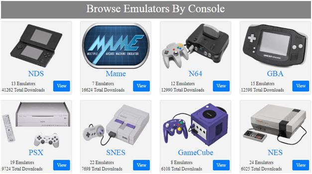 Get a suitable emulator