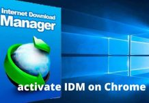 3 Ways to activate IDM on Chrome