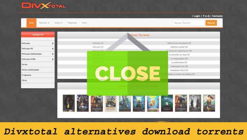 Best Divxtotal alternatives to download torrents