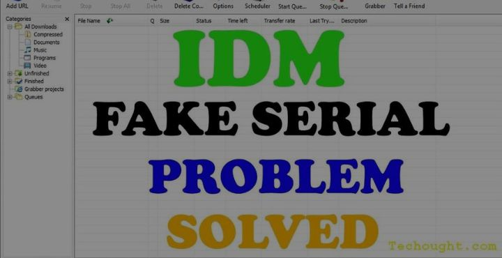 Best Tricks To Fix IDM Fake Serial Number Error