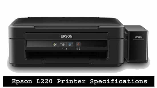 Epson L220 Printer Specifications and Latest Prices