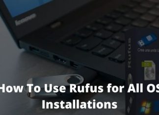 How To Use Rufus for All OS Installations