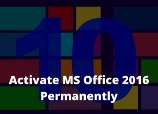 Best 4 Ways to Activate MS Office 2016 Permanently