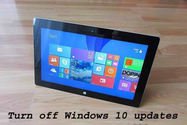 Best 4 Ways to Turn off Windows 10 updates
