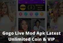 Gogo Live Mod Apk Latest Unlimited Coin & VIP Apk
