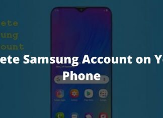 How To Delete Samsung Account from Cellphone