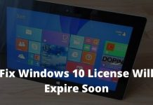 How To Fix Windows License Will Expire Soon
