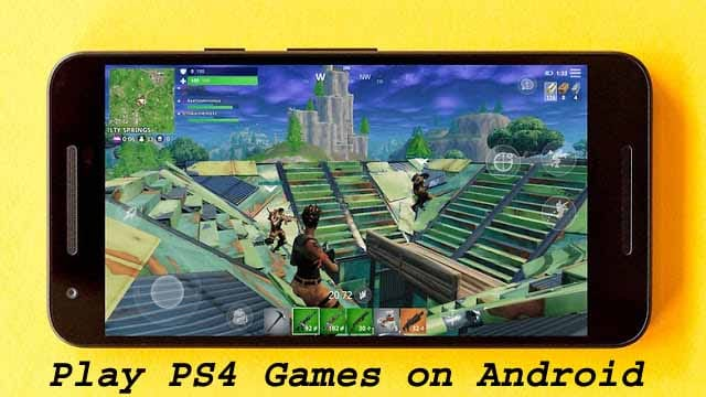 How To Play PS4 Games on Android All Smartphone