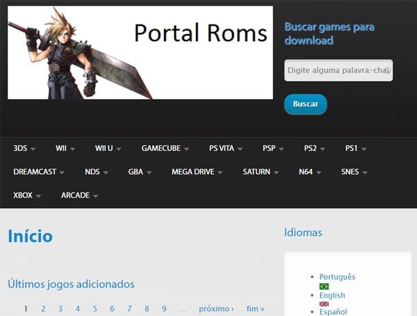 Portal Roms
