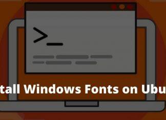How to Install Windows Fonts on Ubuntu