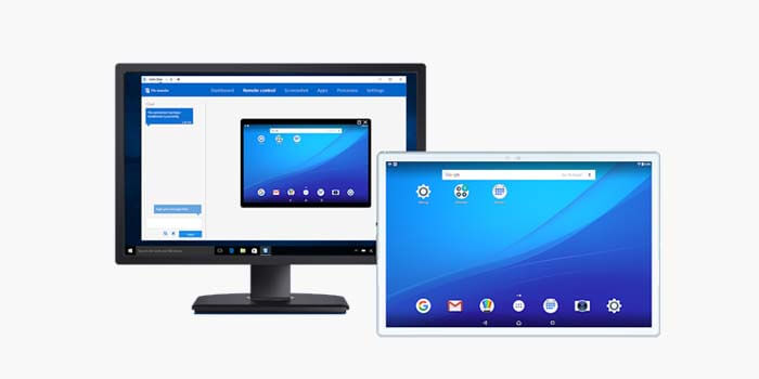 How to Remote Android via TeamViewer PC