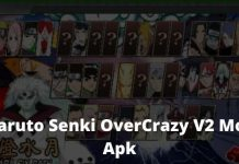 Download Naruto Senki OverCrazy V2 Mod Apk
