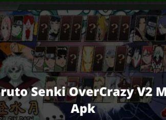 Download Naruto Senki OverCrazy V2 Mod Apk