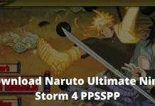 Download Naruto Ultimate Ninja Storm 4 PPSSPP