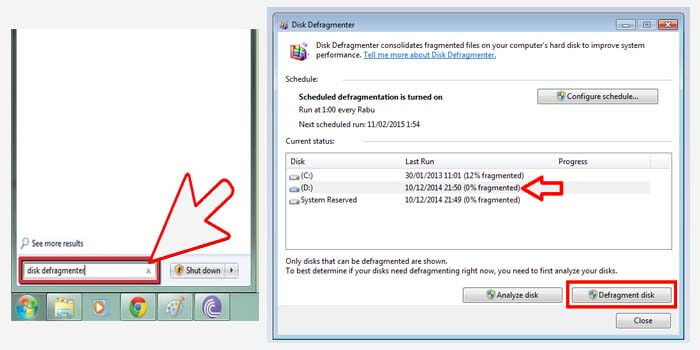 How to Defragment Windows 7