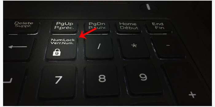 Disable Numlock