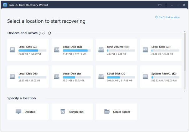 How to Recover Deleted Data from EaseUS Data Recovery Software