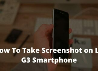How To Take Screenshot on LG G3 Smartphone