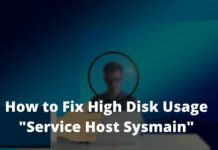 How to Fix High Disk Usage Service Host Sysmain