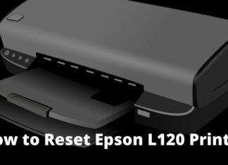 How to Reset Epson L120 Printer