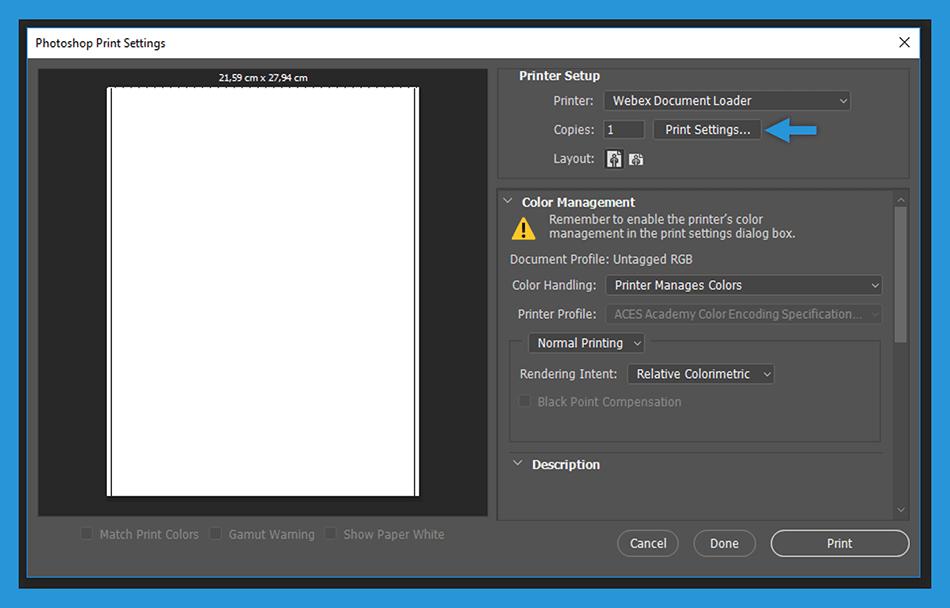 Setting Layout Photoshop