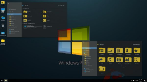 Win11 Dark VS - Cool Windows 10 Dark Mode Theme