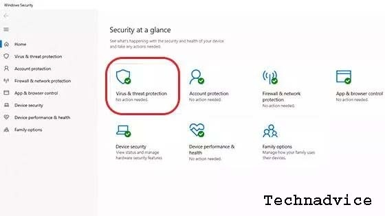 How to Turn Off Windows Defender in Security Center 2