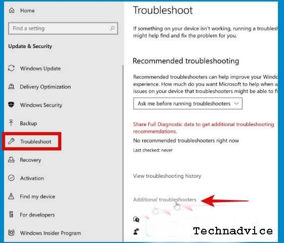 Run the Network Troubleshooter 1