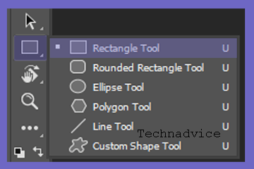 need to activate therectangle tool