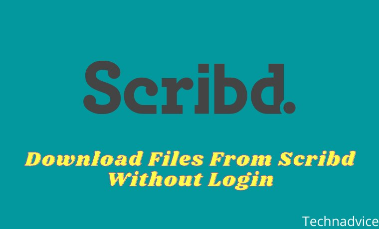 5 Ways to Download Files From Scribd Without Login