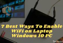 7 Best Ways To Enable WiFi on Laptop Windows 10 PC