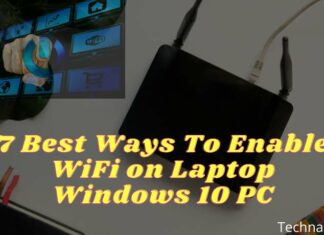 7 Best Ways To Enable WiFi on Laptop Windows 10 PC
