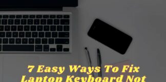 7 Easy Ways To Fix Laptop Keyboard Not Working