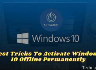 Best Tricks To Activate Windows 10 Offline Permanently