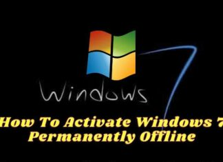How To Activate Windows 7 Permanently Offline