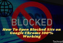 How To Open Blocked Site on Google Chrome 100% Working